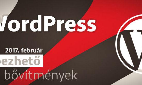 2017 február WordPress sebezhetőség